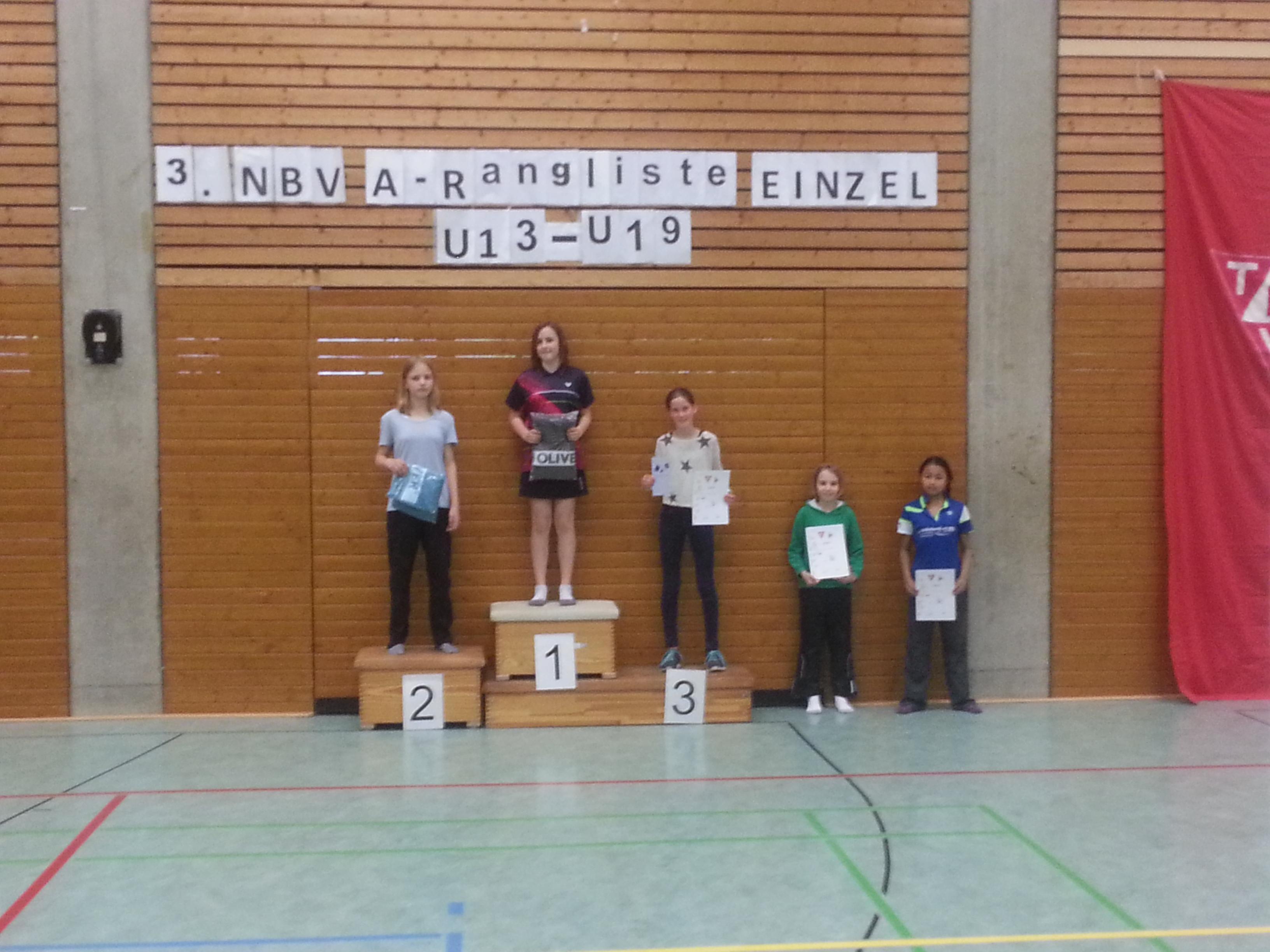 A-Rangliste Hannover-Bemerode