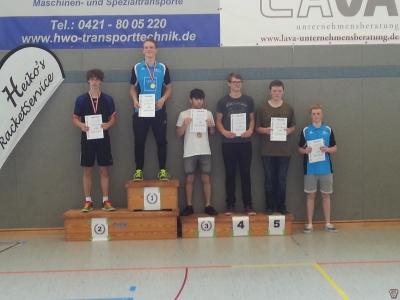 3. C-Jugend-Rangliste in Bremen Arsten