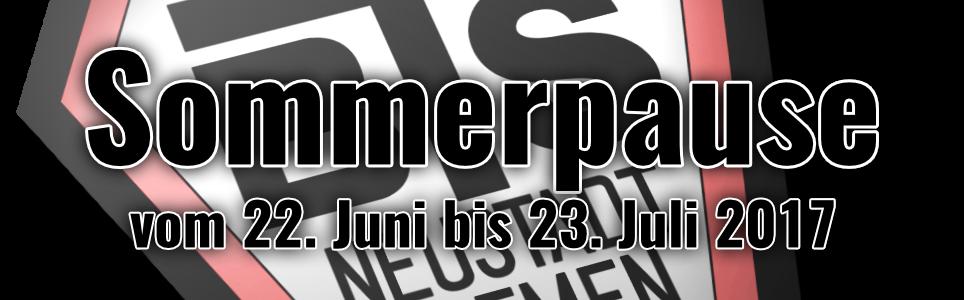 BTS Neustadt Sommerpause