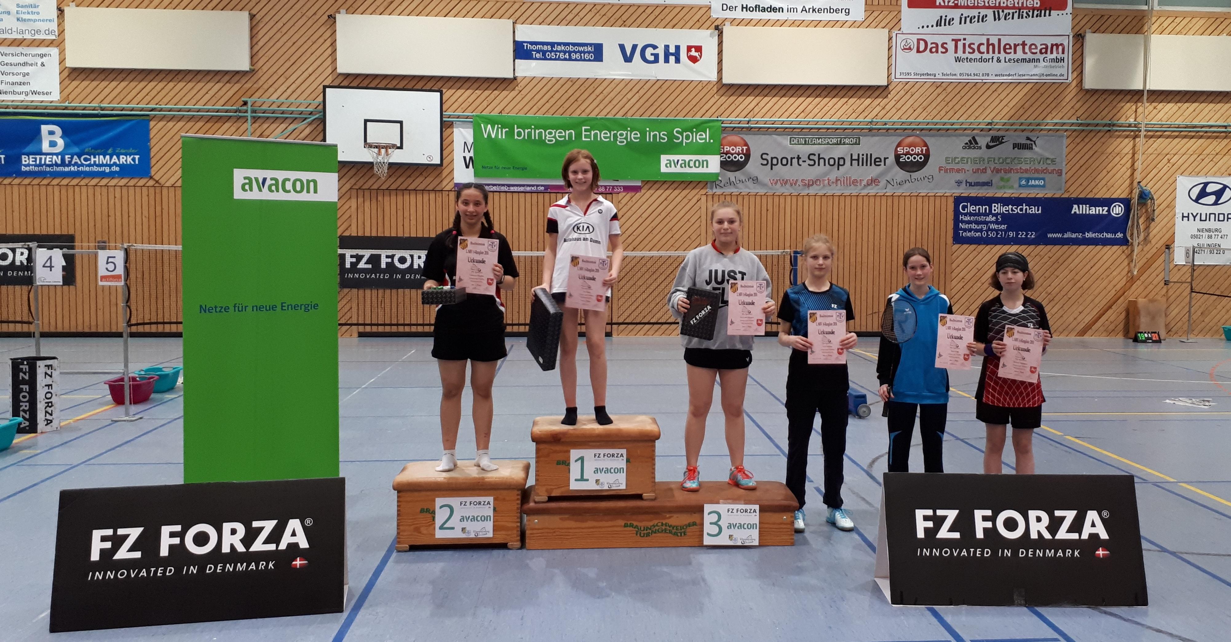 A-Rangliste in Liebenau