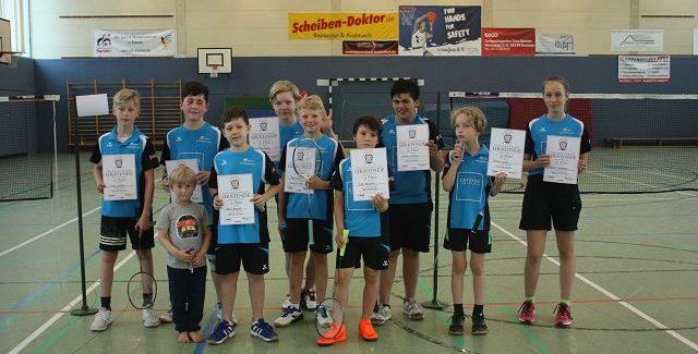 Schüler Vereinsmeisterschaft Einzel