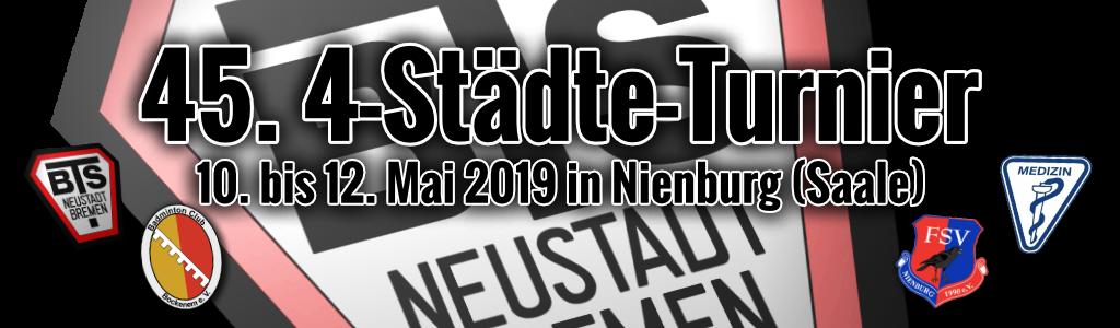 45. Vier-Städte-Turnier 2019 in Nienburg (Saale)