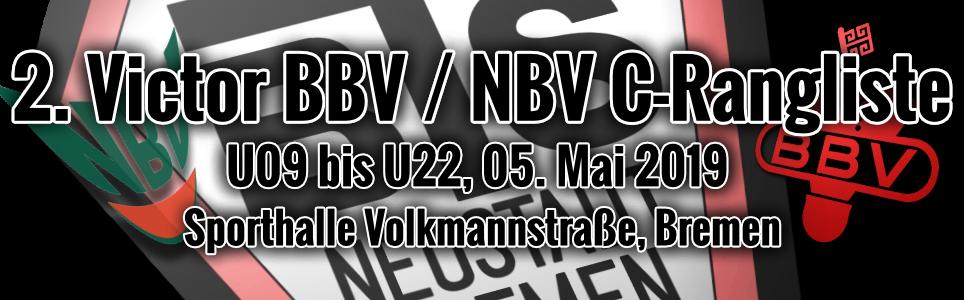 2. Victor BBV-NBV C-Ranglistenturnier U9-U22 2019