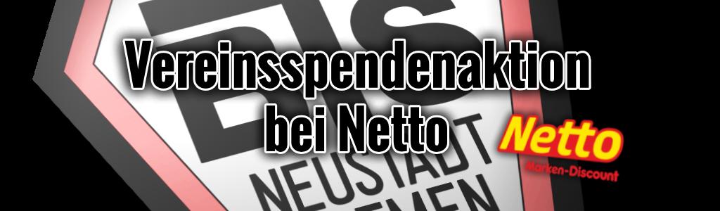 Vereinsspendenaktion bei Netto